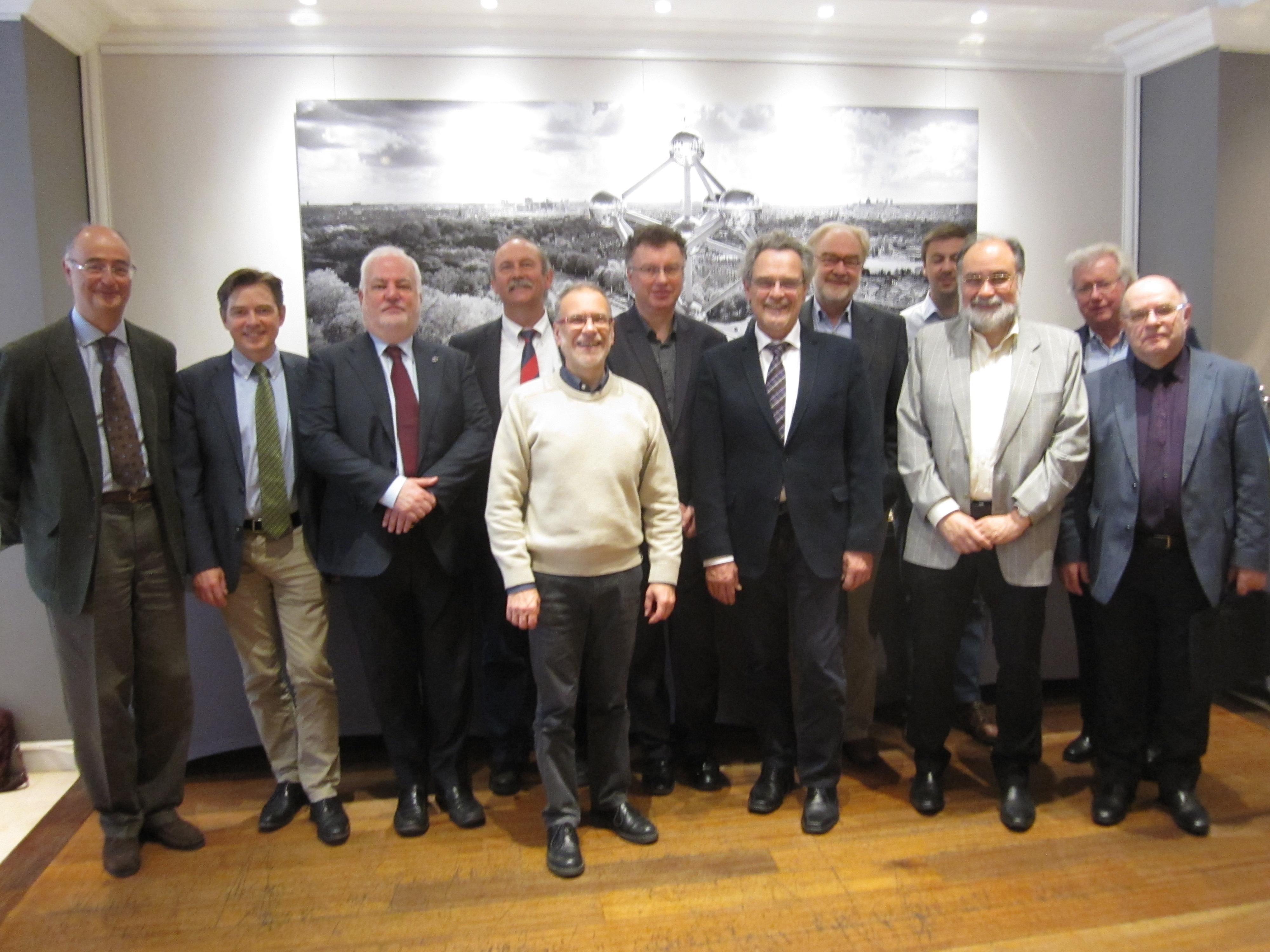 UEMS Allergology meeting in Brussels April 2016